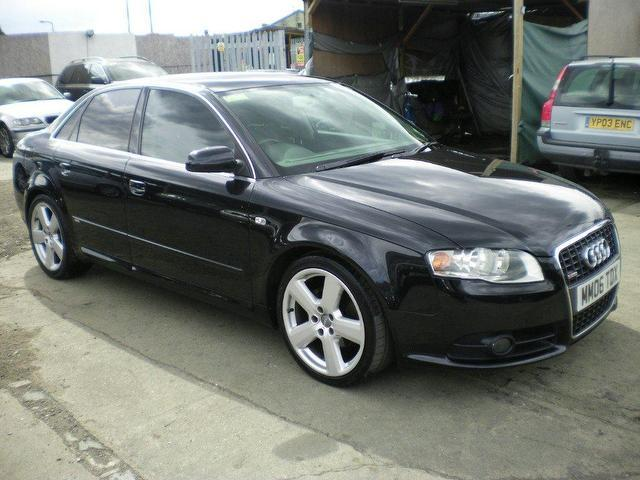 used audi a4 2006 diesel 2 0 tdi tdv s saloon black with servo for sale autopazar. Black Bedroom Furniture Sets. Home Design Ideas