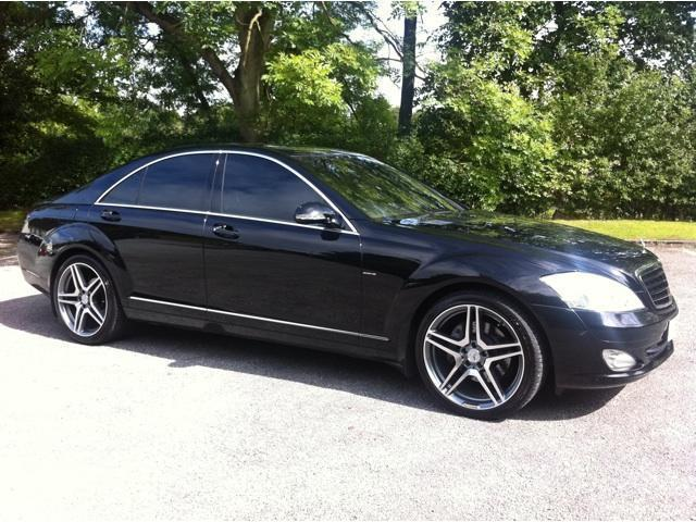 Used black mercedes benz 2006 diesel class s320 cdi 4dr for Mercedes benz s class for sale