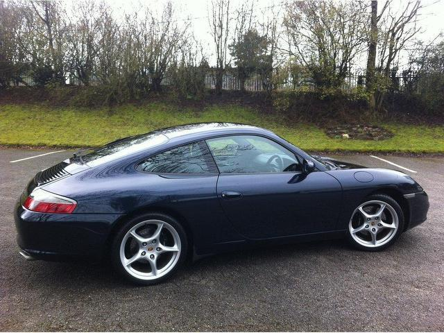 used porsche 911 2003 petrol 2dr 3 6 coupe blue manual for sale in stoke on trent uk autopazar. Black Bedroom Furniture Sets. Home Design Ideas