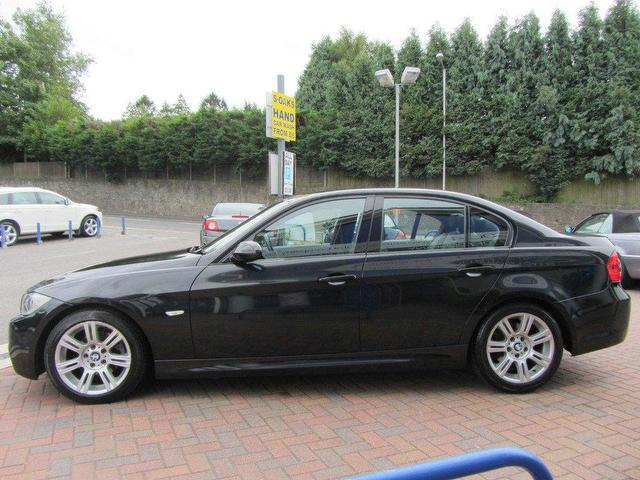used bmw 3 series 2006 diesel 320d m sport saloon black. Black Bedroom Furniture Sets. Home Design Ideas