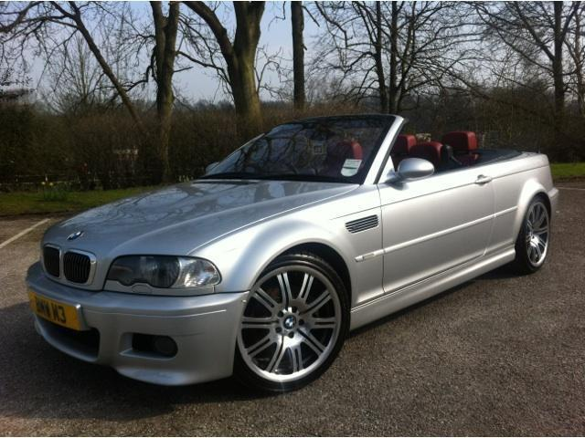 Used BMW M3 2003 Silver Convertible Petrol Manual for Sale