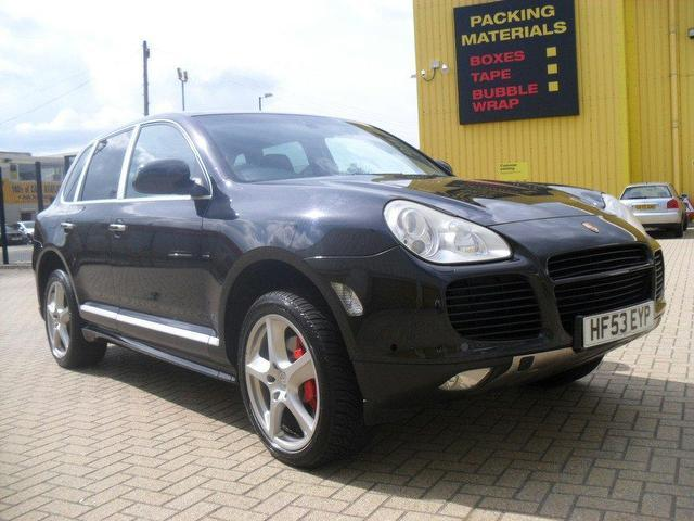 Used Porsche Cayenne 2003 Black 4x4 Petrol Automatic for Sale