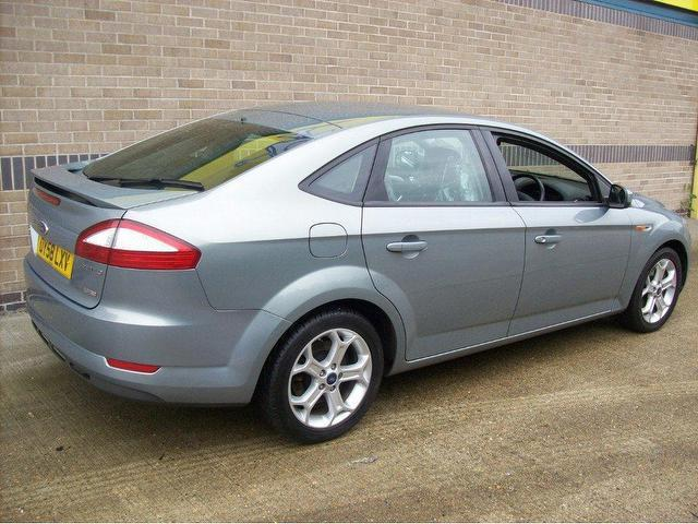 used ford mondeo 2008 diesel 1 8 tdci zetec 5dr hatchback grey with climate control panel for. Black Bedroom Furniture Sets. Home Design Ideas