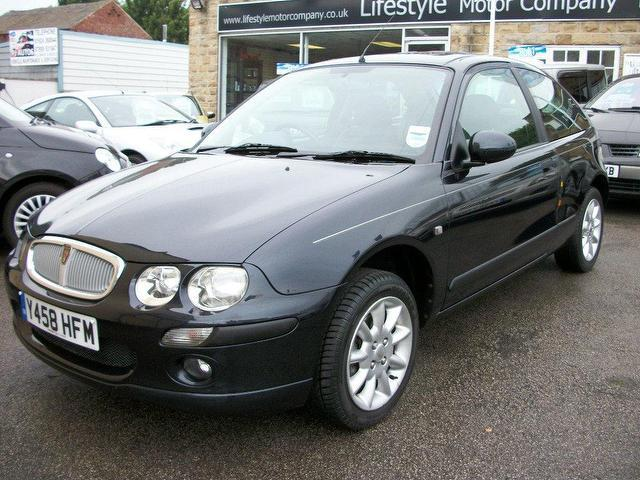Used Rover 25 2001 Petrol 1.8 Il Step Auto Hatchback Grey ...