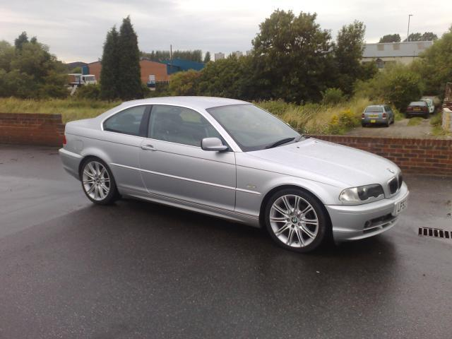 used bmw 3 series 2002 petrol 320 ci 2dr coupe silver manual for sale in stoke on trent uk. Black Bedroom Furniture Sets. Home Design Ideas