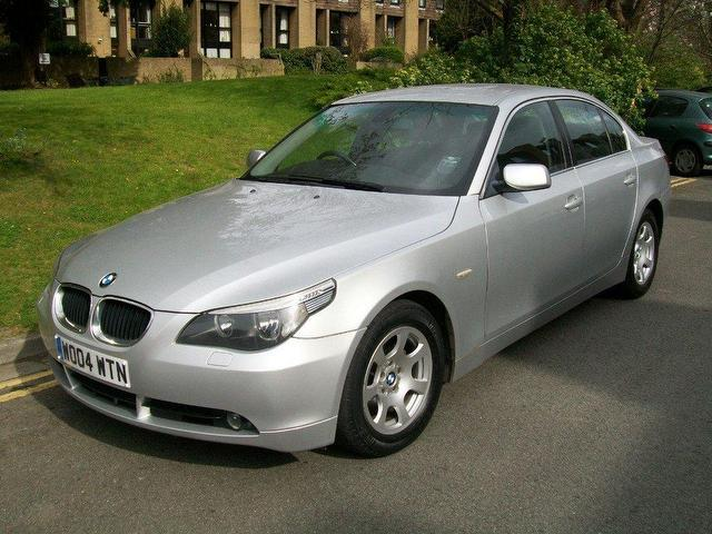 Used BMW 5 2004 Silver Saloon Diesel  for Sale