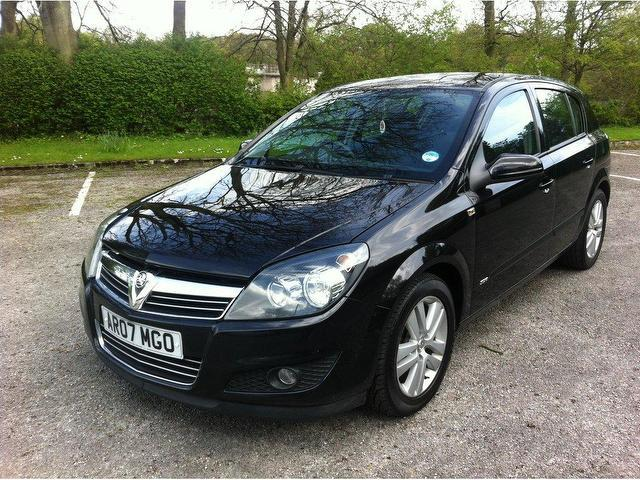 used vauxhall astra 2007 diesel 1 7 cdti 16v sxi hatchback black edition for sale in stoke on. Black Bedroom Furniture Sets. Home Design Ideas