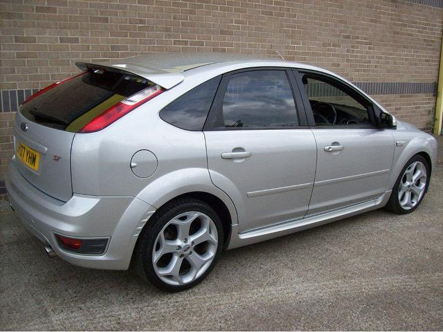 used ford focus 2007 petrol 2 5 st 2 5dr hatchback silver with for sale autopazar. Black Bedroom Furniture Sets. Home Design Ideas