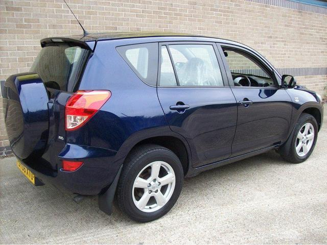 used toyota rav4 2006 diesel 2 2 d 4d xt4 5dr 4x4 blue with for sale autopazar. Black Bedroom Furniture Sets. Home Design Ideas