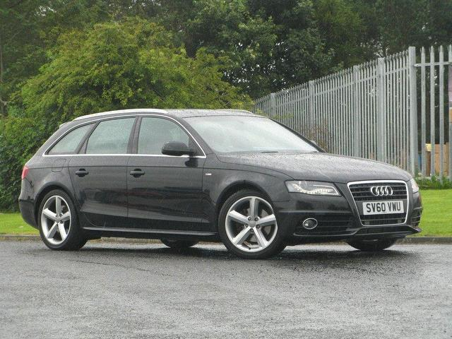 Used Audi A4 2010 Diesel 2 0 Tdi 170 S Estate Black With