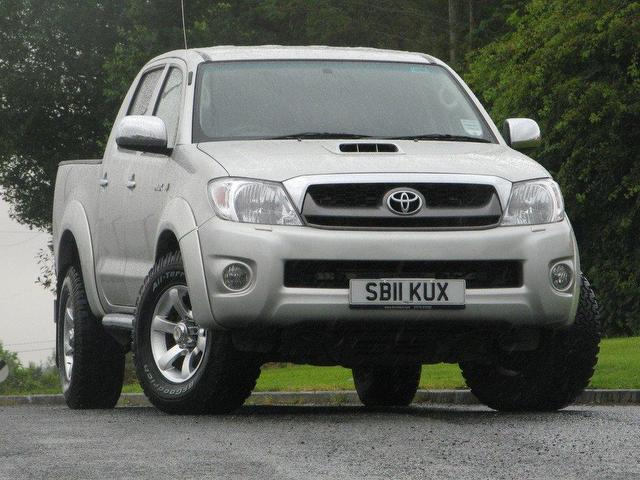 used toyota hilux diesel for sale uk autopazar. Black Bedroom Furniture Sets. Home Design Ideas