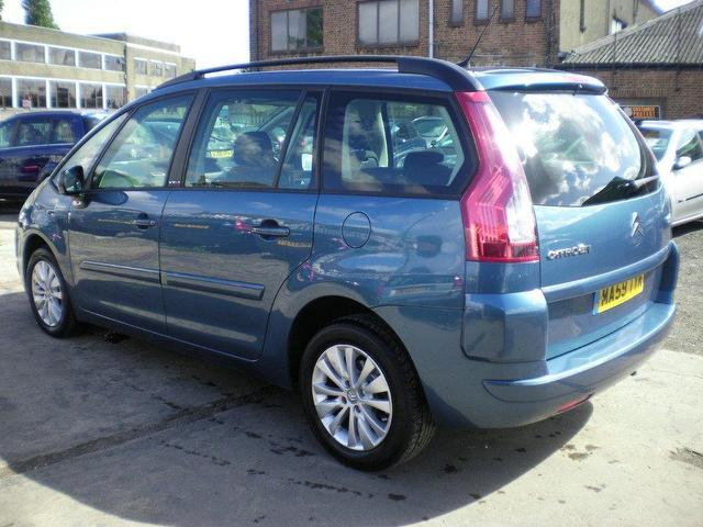 used citroen c4 2009 diesel grand picasso 16v estate blue with for sale autopazar. Black Bedroom Furniture Sets. Home Design Ideas