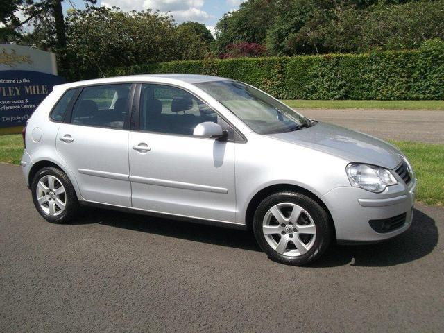 Used Volkswagen Polo 2008 Silver Hatchback Diesel Manual for Sale