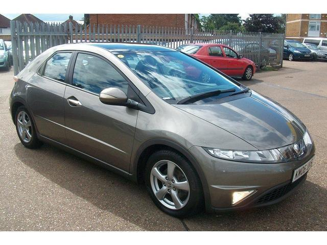used honda civic 2006 grey hatchback petrol manual for sale