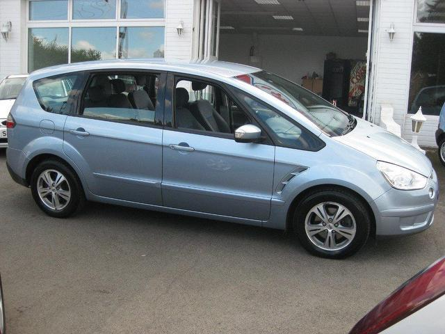 used ford s max 2007 diesel 2 0 tdci zetec 5dr estate blue edition for sale in sittingbourne uk. Black Bedroom Furniture Sets. Home Design Ideas