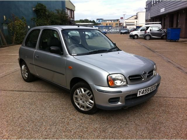 Value Of Nissan Micra 2001