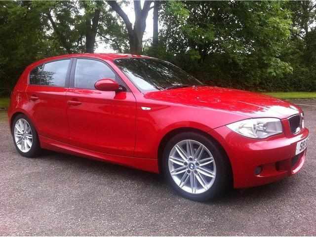 used red bmw 1 series 2006 diesel 118d m sport hatchback in great condition for sale autopazar. Black Bedroom Furniture Sets. Home Design Ideas