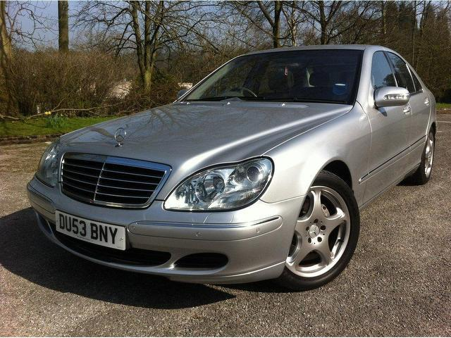 Used mercedes benz car 2004 silver petrol class s500 7 4 for Mercedes benz uk used
