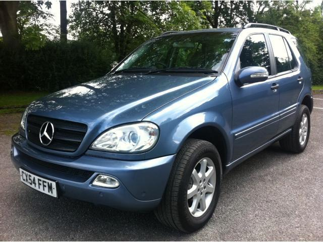 Used mercedes benz 2004 blue paint diesel class ml270 cdi for Mercedes benz uk used