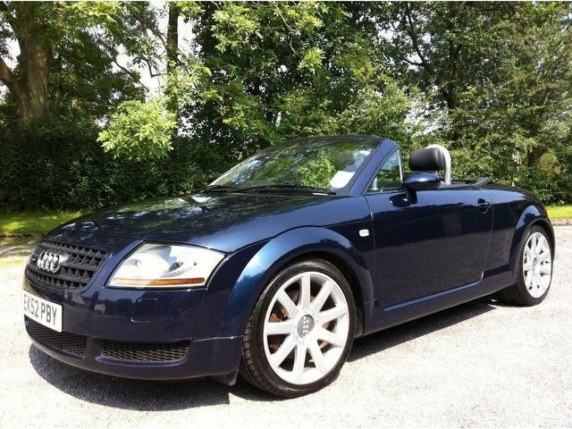 used audi 1 8 2002 petrol t quattro 2dr 225 convertible blue with for sale autopazar. Black Bedroom Furniture Sets. Home Design Ideas