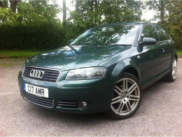 used audi a3 2004 diesel 2 0 tdi se 3dr hatchback green with computer for sale autopazar. Black Bedroom Furniture Sets. Home Design Ideas
