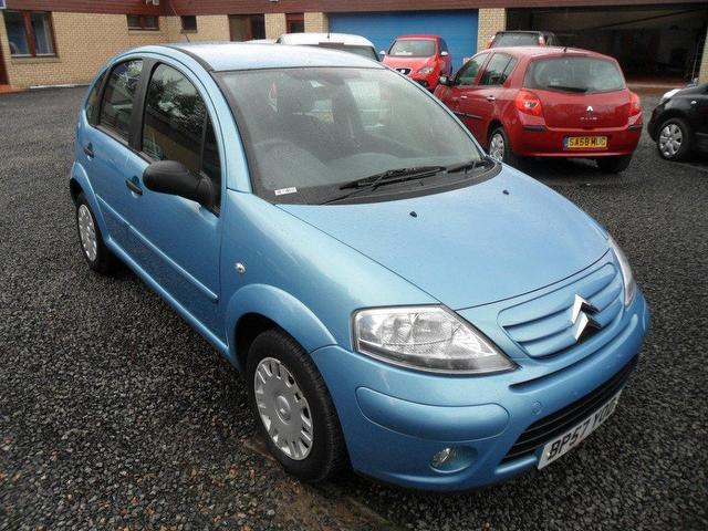 used citroen c3 2008 petrol sx 5dr hatchback blue with for sale autopazar. Black Bedroom Furniture Sets. Home Design Ideas