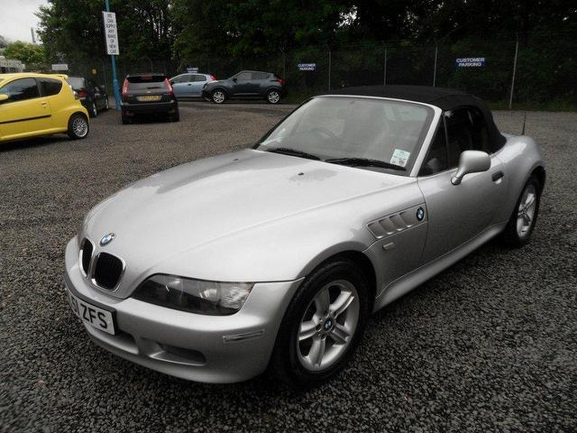 Used Silver Bmw Z3 2001 Petrol 1 9 8v 2dr Convertible