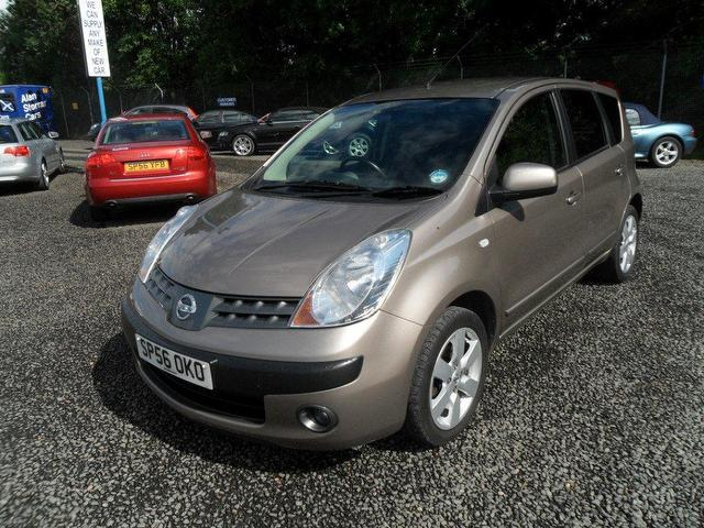 used nissan note 2006 diesel 1 5 dci sve 5dr hatchback beige with abs breaks for sale autopazar. Black Bedroom Furniture Sets. Home Design Ideas