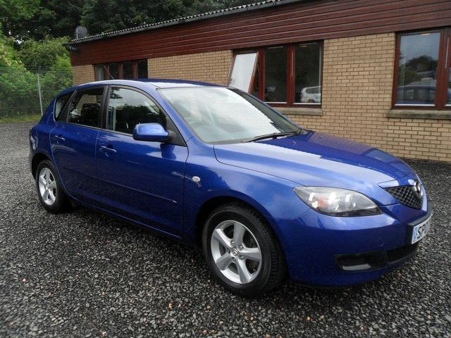 used mazda mazda3 2007 petrol 1 4 ts 5dr hatchback blue edition for sale in inveralmond place uk. Black Bedroom Furniture Sets. Home Design Ideas