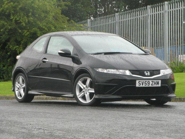used honda civic 2009 diesel 2 2 i ctdi type s hatchback black edition for sale in turrif uk. Black Bedroom Furniture Sets. Home Design Ideas