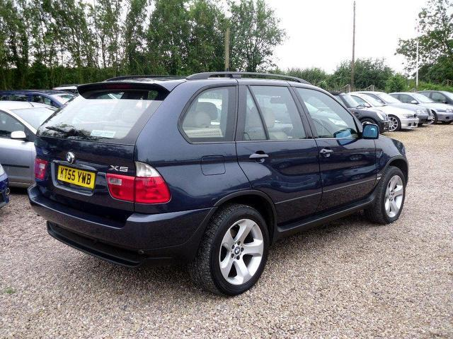 used bmw x5 car 2005 blue diesel sport 5 door auto. Black Bedroom Furniture Sets. Home Design Ideas