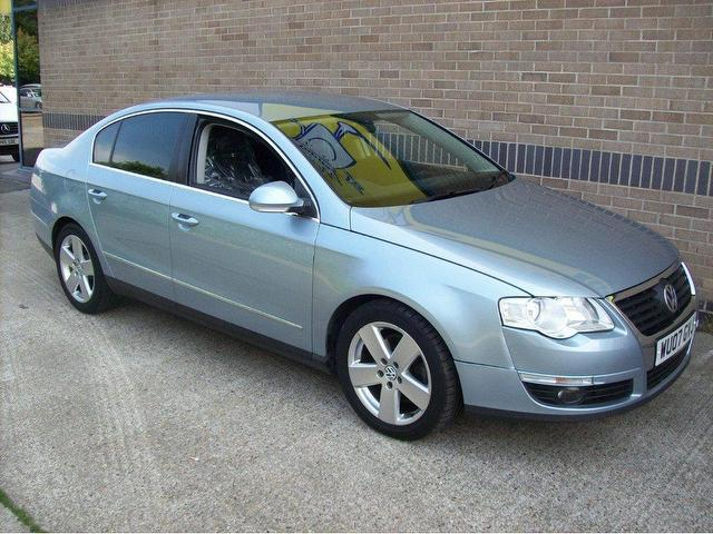 used volkswagen passat 2007 diesel 2 0 tdi sport 140bhp saloon blue edition for sale in norwich. Black Bedroom Furniture Sets. Home Design Ideas