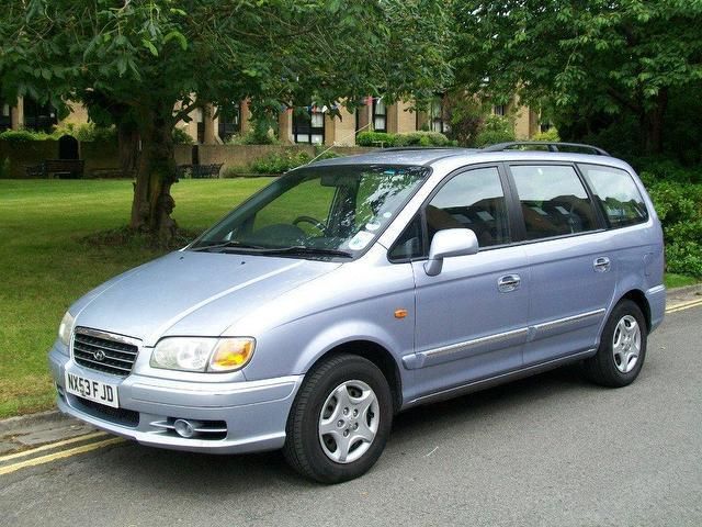 used 2003 hyundai trajet estate silver edition 2 0 crtd. Black Bedroom Furniture Sets. Home Design Ideas