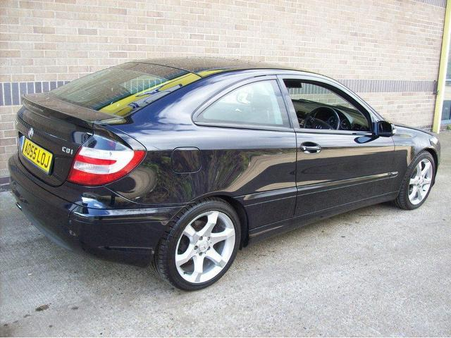 mercedes c220 cdi coupe 2005 for sale. Black Bedroom Furniture Sets. Home Design Ideas