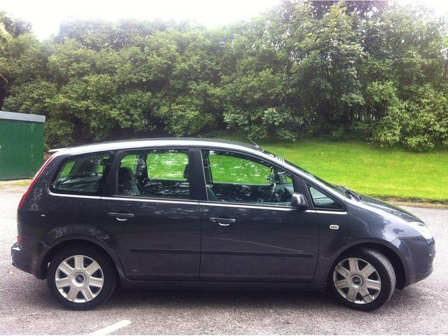 used ford focus 2007 petrol c max 1 6 lx 5dr estate grey. Black Bedroom Furniture Sets. Home Design Ideas