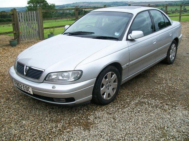 Used 2002 Vauxhall Omega Saloon 2.6 V6 24v Cdx Petrol For Sale In ...