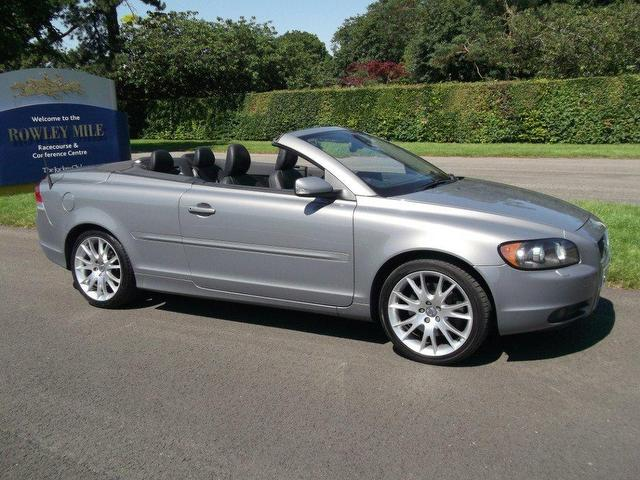 Used Volvo C70 2006 Petrol T5 Se Lux 2dr Convertible Grey With For Sale - Autopazar