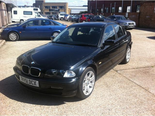 Used Bmw 3 Series Car 2002 Black Petrol 316i Se 4 Door Saloon For