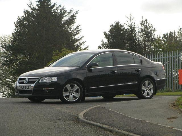 used volkswagen passat car 2008 black diesel 2 0 sel tdi 170 estate for sale in turrif uk. Black Bedroom Furniture Sets. Home Design Ideas
