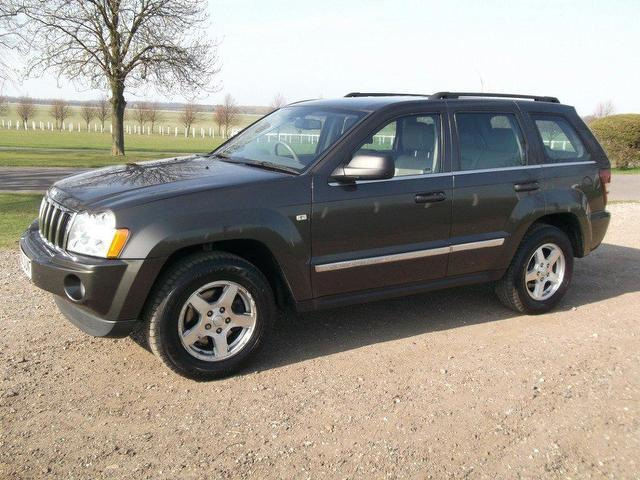 used jeep grand 2006 diesel cherokee 3 0 crd limited 4x4 grey with trip computer for sale. Black Bedroom Furniture Sets. Home Design Ideas