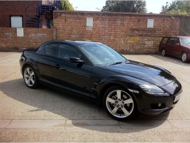 Used Mazda Rx8 2004 Black Paint Petrol 4dr [231] Part Exchange Coupe For Sale In Brentford Uk ...