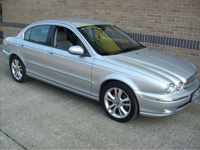 used jaguar x type 2007 diesel se 4dr saloon silver. Black Bedroom Furniture Sets. Home Design Ideas
