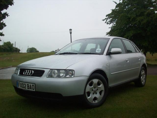 used audi a3 2002 model 1 8 se 5dr petrol hatchback silver for sale in stoke on trent uk autopazar. Black Bedroom Furniture Sets. Home Design Ideas