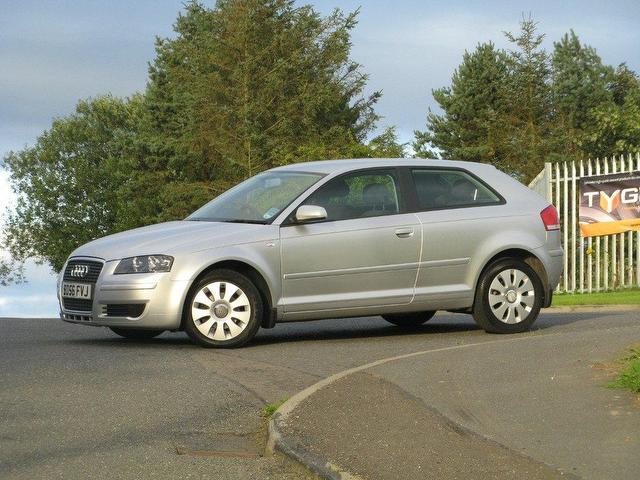 used audi a3 car 2006 silver diesel 1 9 tdi special edition hatchback for sale in turrif uk. Black Bedroom Furniture Sets. Home Design Ideas