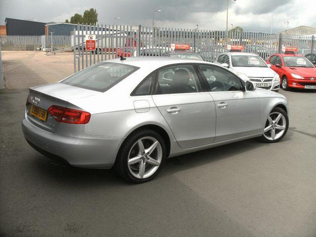 Used Audi A4 2008 Diesel 2.0 Tdi 143 Se Saloon Silver For Sale In Oswestry Uk - Autopazar
