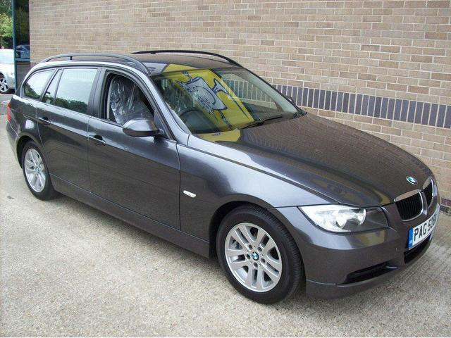 used bmw 3 series 2006 diesel 320d se 5dr estate grey with for sale autopazar. Black Bedroom Furniture Sets. Home Design Ideas