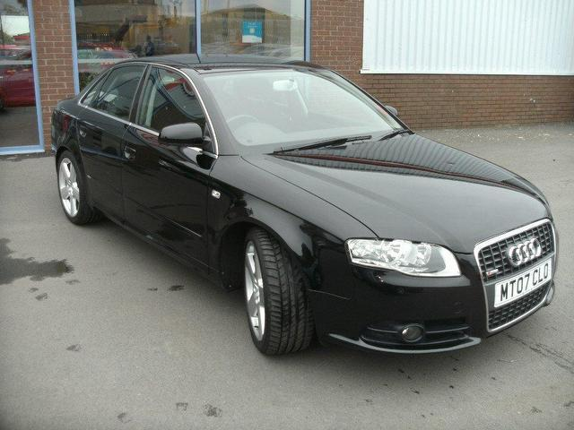 used audi a4 2007 diesel 1 9 tdi tdv s saloon black for sale in oswestry uk autopazar. Black Bedroom Furniture Sets. Home Design Ideas