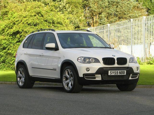 used bmw x5 2009 diesel xdrive30d se 5dr auto 4x4 white with for sale autopazar. Black Bedroom Furniture Sets. Home Design Ideas