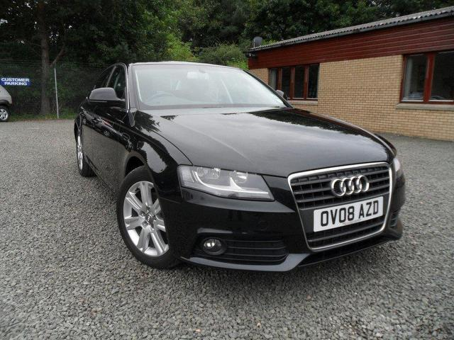 used audi a4 2008 diesel 2 0 tdi 143 se saloon black edition for rh autopazar co uk 2008 audi a4 s line manual for sale 2008 Audi A4 Quattro