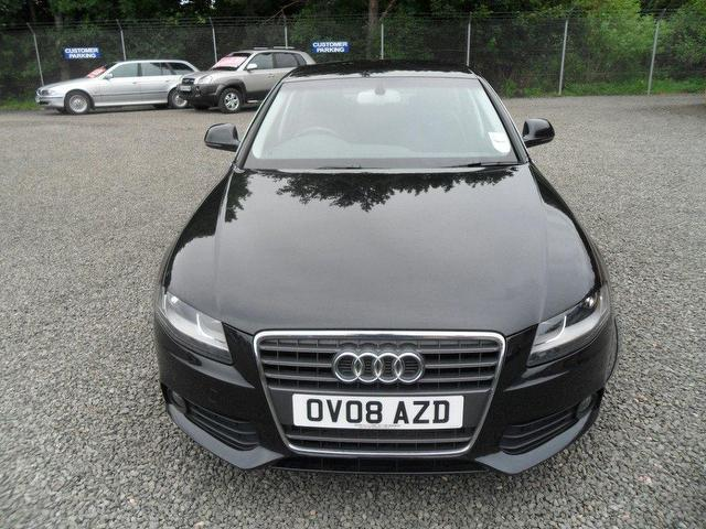 used audi a4 2008 diesel 2 0 tdi 143 se saloon black edition for sale in inveralmond place uk. Black Bedroom Furniture Sets. Home Design Ideas